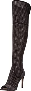 Best peep toe over the knee boots black Reviews