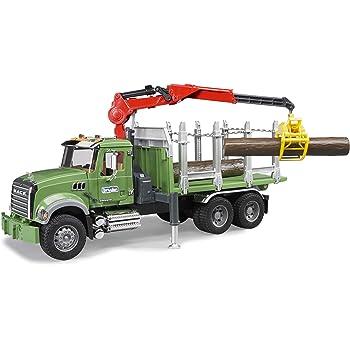 Jouet BRUDER 03524 Camion de tranport de bois SCANIA R
