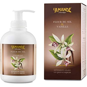 L'Amande Detergente Liquido Mani Fleur de Sel, 300 ml