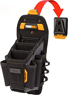 ToughBuilt - Technician 10 Pocket Pouch (Large)   15 Pockets & Loops, 3 Adjustable Pockets, Long/Short Tools, Holster Acce...
