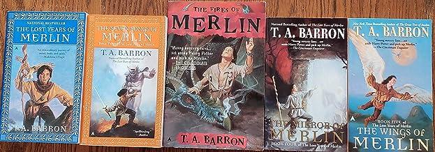 The Lost Years of Merlin Saga (5 Volumes Set)