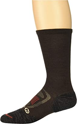 Zoned Crew Light Hiker Sock