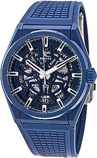 Zenith DEFY Classic Blue Skeleton Dial Automatic Men's Watch 49.9003.670/51.R793