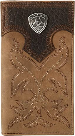 Ariat Shield Boot Stitch Rodeo Wallet
