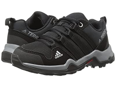 adidas Outdoor Kids Terrex AX2R (Little Kid/Big Kid) (Black/Black/Vista Grey) Boys Shoes