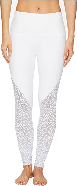 Beyond Yoga - Cut It Close Mesh High-Waist Long Leggings