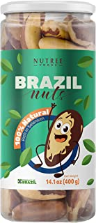 Premium Raw Brazil Nuts Natural Whole Unsalted Shelled Organic Superfoods Best Fresh Natural Snacks (14.1 o...