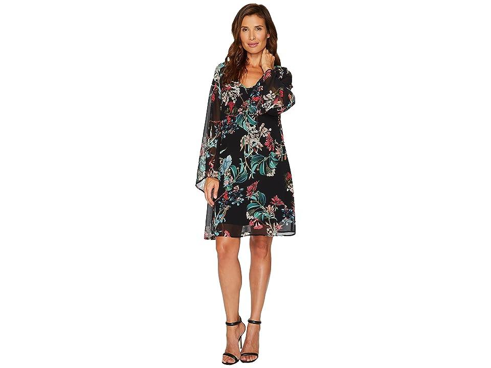 1807137c3bd Karen Kane Flare Sleeve Dress (Print) Women