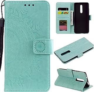 LODROC Lederen Portemonnee Case voor Xiaomi Redmi Note 8 Pro, [Kickstand Feature] PU Lederen Portemonnee Case Flip Folio C...