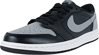 jordan 1 retro low black grey