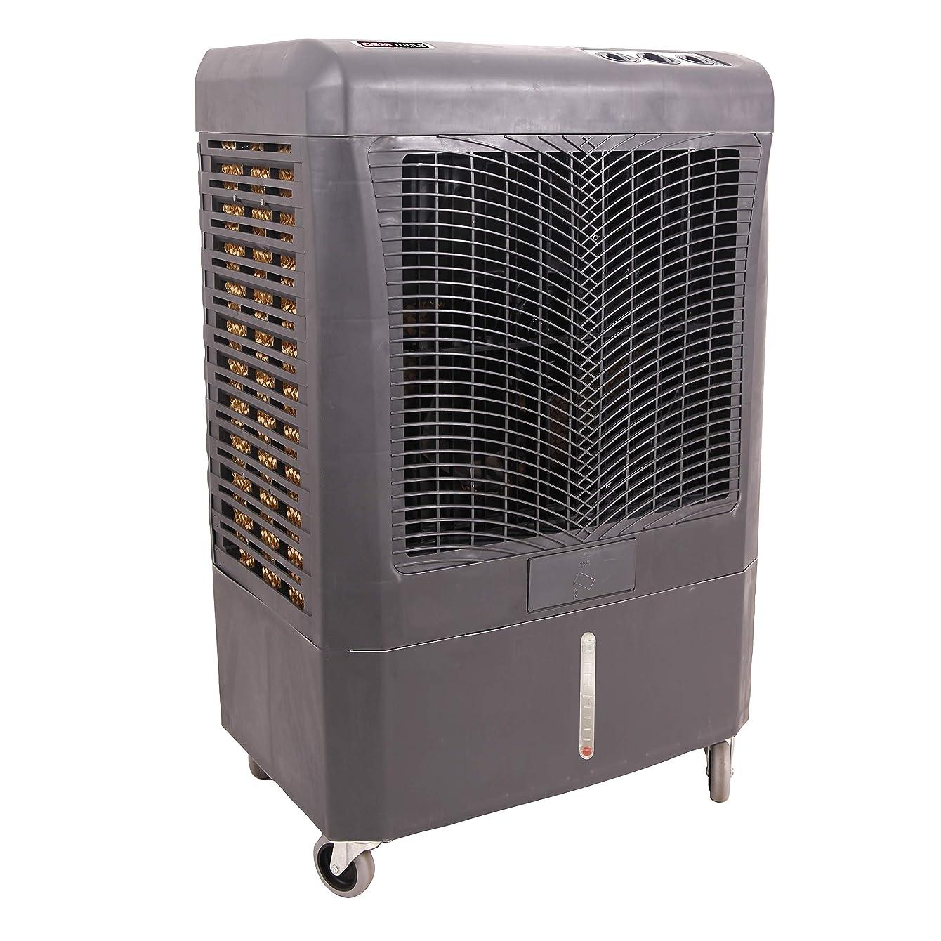 OEMTOOLS 23976 3,100 CFM 3 Speed Evaporative Cooler, Black
