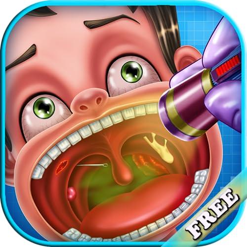 Der Arzt der Kehle: Ein pädagogisches Spiel des Arztes für Kinder - sei ein Arzt der Kehle ! KOSTENLOS