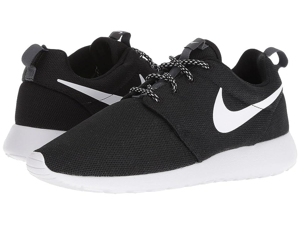 719216fb5ba ... UPC 887226357992 product image for Nike Roshe One (Black White Dark  Grey) ...
