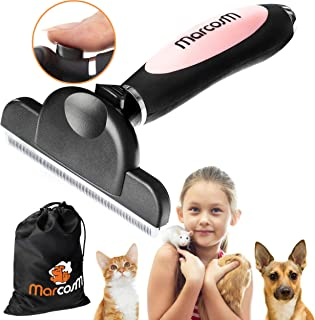 MarcosM Dog Brushes for Shedding Professional Deshedding Tool for Dogs and Cats with..