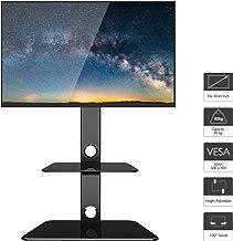 """1home Supporto Cantilever in Vetro per Televisione con Staffa Girevole per 30""""-65"""" Plasma, LCD, LED, 3D TV"""