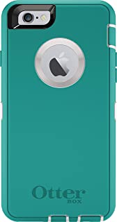 OtterBox DEFENDER iPhone 6/6s Case - Frustration Free Packaging - SEACREST (WHISPER WHITE/LIGHT TEAL)