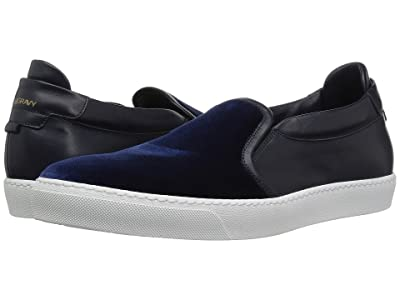 Gold & Gravy Ted Velvet Sneaker (Navy Velvet) Men