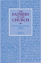 Letters, Volume 1 (Fathers of the Church Patristic Series)
