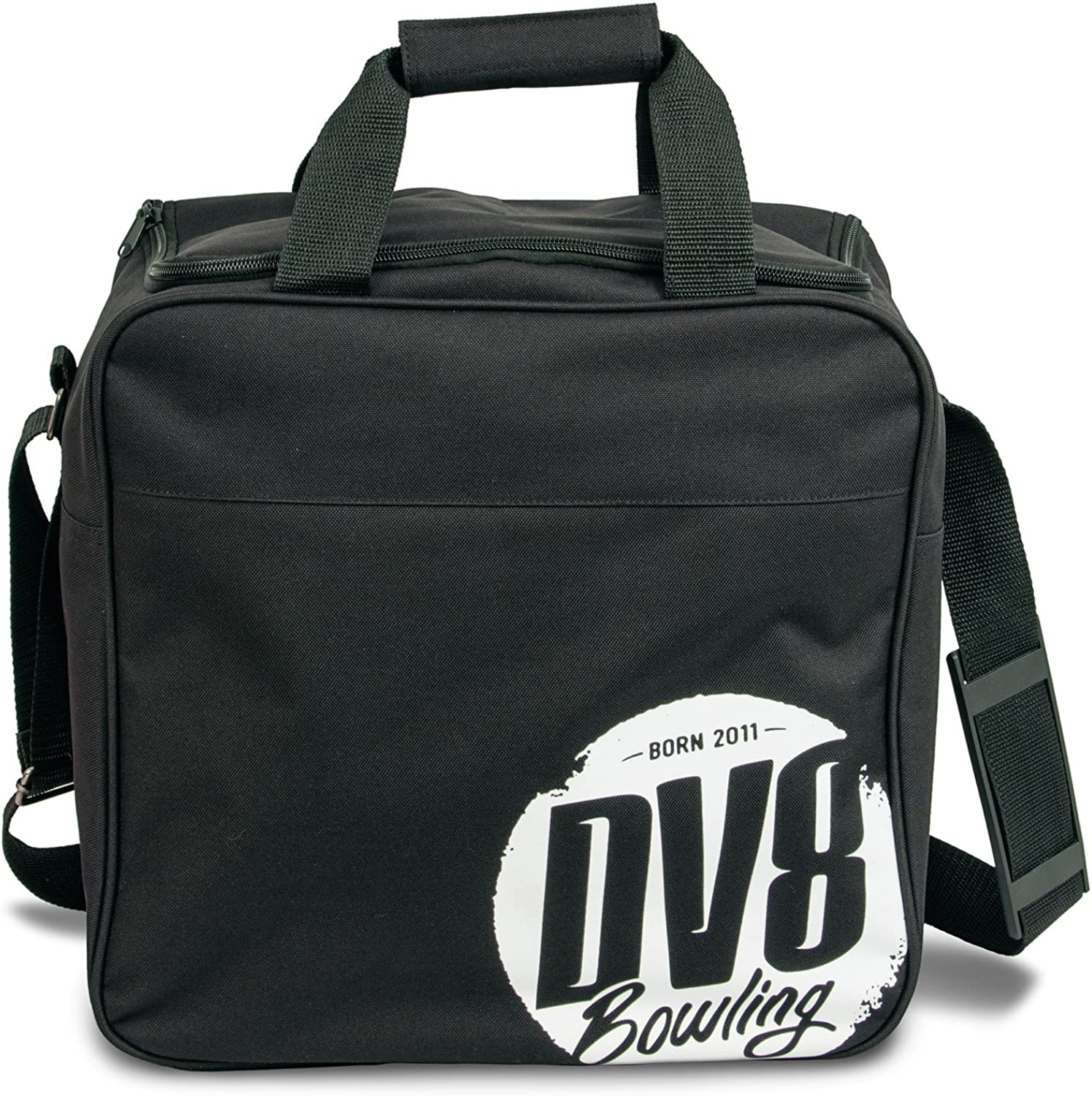DV8 Freestyle Single Tote Bowling Bag, Black