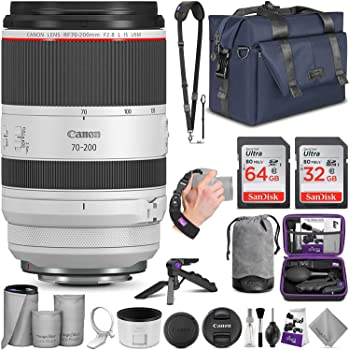 Canon RF 70-200mm f/2.8L is USM Lens with Altura Photo Complete Accessory and Travel Bundle