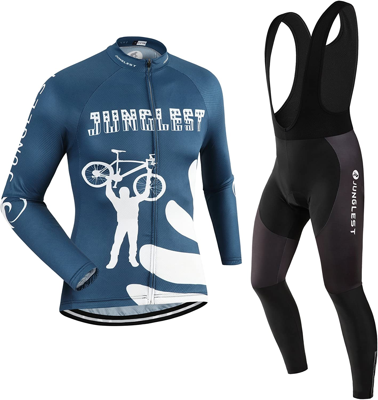 Atlanta Mall JNL Cycling Jersey Set Wen Long pad Option:bib 3D Max 68% OFF Sleeve S~5XL