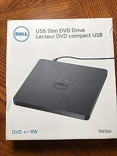 Dell USB DVD/CD Tray Loading Drive Ultra Slim +/-RW Portable