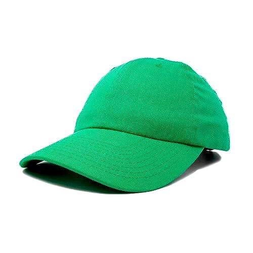 58bba6ca3a4d7 DALIX Baseball Cap Dad Hat Plain Men Women Cotton Adjustable Blank  Unstructured Soft