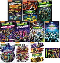 Teenage Mutant Ninja Turtles: The Complete Reboot TV Series Seasons 1-5 DVD Collection with Bonus Glossy Art Card