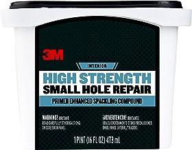 3M SHR-16-BB Patch Plus Primer Lightweight Spackling, 16 fl. oz 1 tub, Gray, 16 Ounce