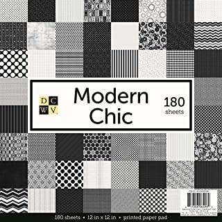 Die Cuts with A View Stack 12 x 12-Single-Sided-Modern Chic-180 Sheet PS-016-00006