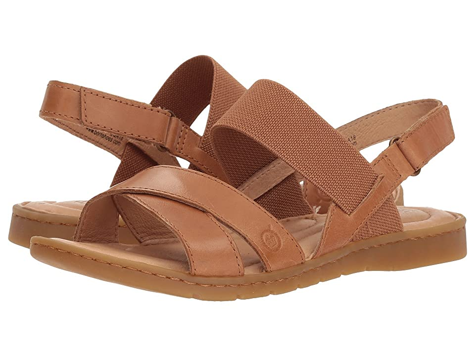Born Zinnia (Light Brown Full Grain Leather) Women