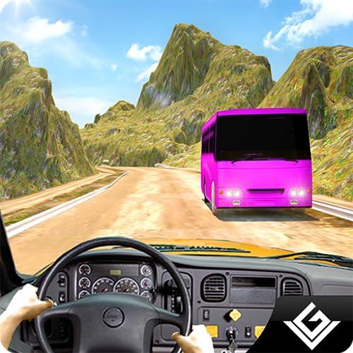 Offroad City Tourist Bus Simulator 3D: Transport Tourist im Bus fahren Parkplatz Racing Simulation Transporter Abenteuer Mission Spiele kostenlos für Kinder 2018