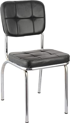 Da URBAN Visitor Chair Without Arms (Black) (1 Pc)