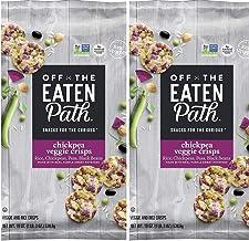 Off The Eaten Path Chickpea Veggie Crisps (19 oz.) PACK of 2