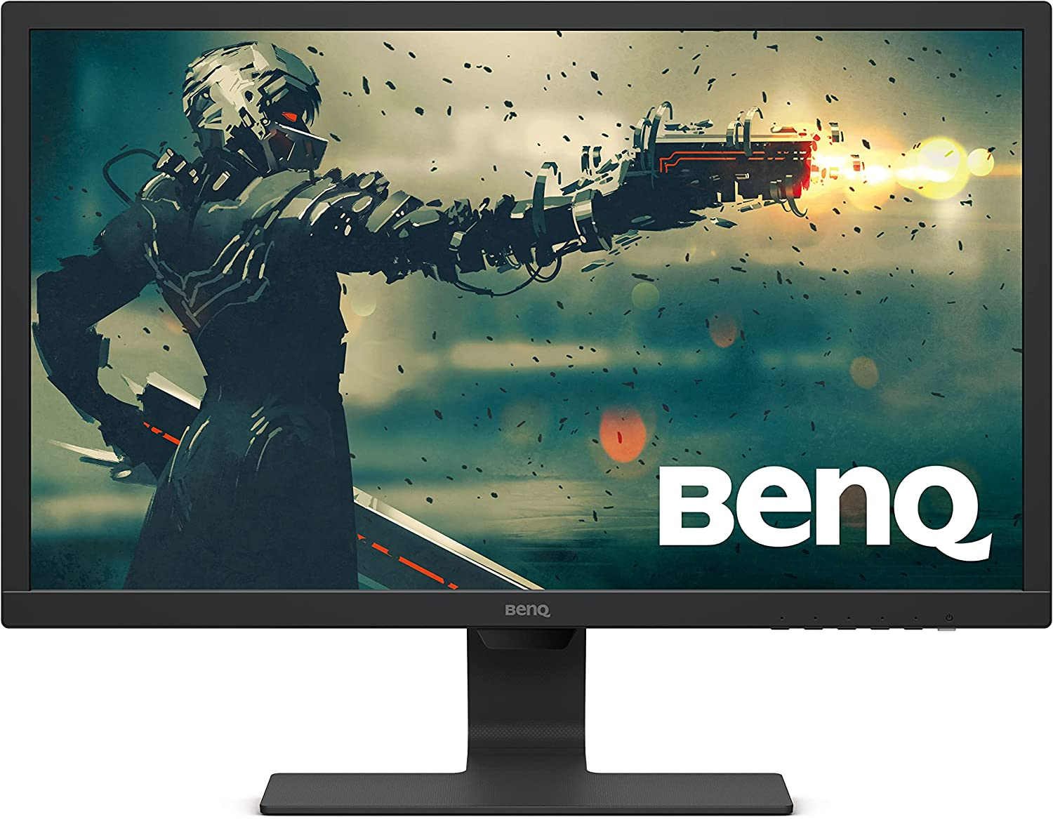BenQ 24 Inch 1080P Monitor   75 Hz for Gaming   Proprietary Eye-Care Tech  Adaptive Brightness for Image Quality   GL2480,Black