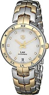 ed078f5699e TAG Heuer Women s WAT2350.BB0957 Link Analog Display Swiss Automatic Silver  Watch