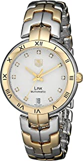 Women's WAT2350.BB0957 Link Analog Display Swiss Automatic Silver Watch