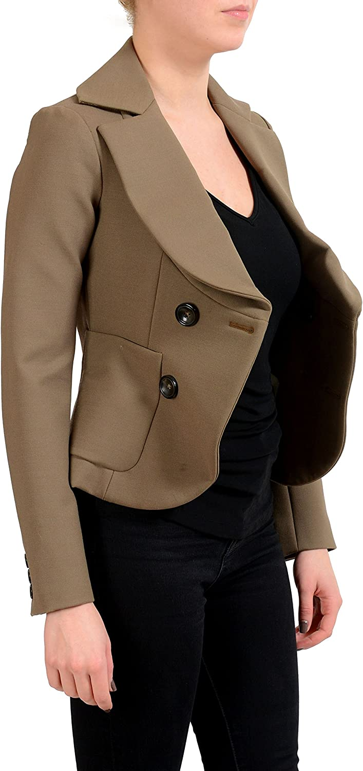 Dsquared2 Green DoubleBreasted Women's Blazer US XS IT 38
