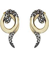 Alexis Bittar - Coiled Snake Post Earrings