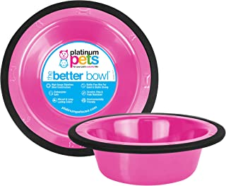Platinum Pets SwitchIN Stainless Steel Cat/Dog Bowl