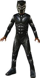 comprar comparacion Rubies 641046-M Avengers - Disfraz de Pantera Negra para niños, Black Panther, M (5-7 años)