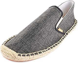 Kentti Men Classic Natural Fabric Slip-on Espadrilles
