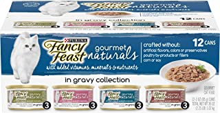 Purina Fancy Feast Gravy Wet Cat Food, Gravy Lovers Salmon Feast in Seared Salmon Flavor..