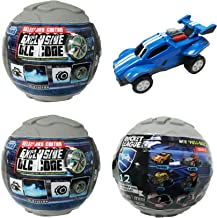 Rocket League Mini Pull-Back Racer Car Mystery Ball Set of 3 - With Possible DLC Code