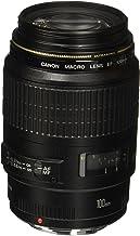 Canon 4657A006-cr EF 100mm F/2.8 Macro USM Fixed Lens for SLR Cameras, Black (Renewed)