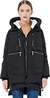 Women's Thickened Down Jacket Black XL