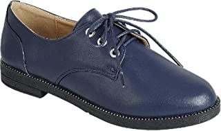 BDshoes Forte Top Selling Classic Oxford Lace Up for Women Ladies Teen Girls (Assorted Colors)
