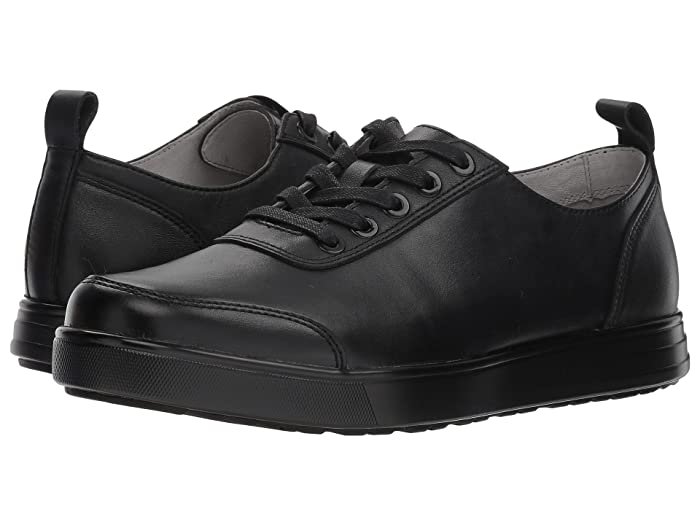Alegria  Stretcher (Black Tumbled) Mens Lace up casual Shoes