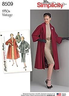 Vest Coats 16-18-20-22-24 U5 Jackets Simplicity Creative Patterns US8467U5 Tops