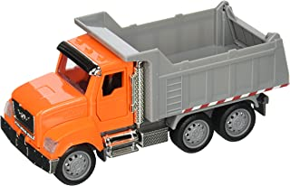 DRIVEN by Battat – Micro Dump Truck – Toy Dump Truck with Lights, Sounds, and Movable Parts for Kids Age 3 and Up
